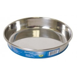 Non-skid Stainless Steel Dish