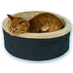 Kittens and older cats love the heated bed!