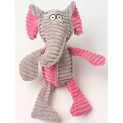 Ribrageous Eva the Elephant Dog Toy