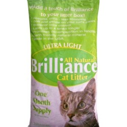 Ultra light-weight cat litter