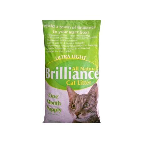 Ultra light-weight cat litter