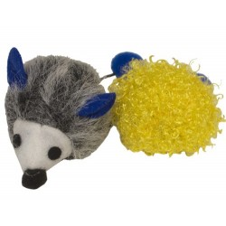 Hedgehog 'n Ball Smell the Catnip Toys by Imperial Cat