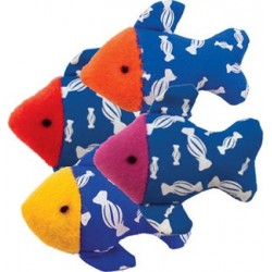 Tiny Tuna Catnip Cat Toys, Set of 4