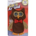 Mister Owl Refillable Catnip Toy