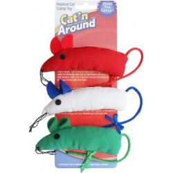 Bowtie Mice Catnip Toys