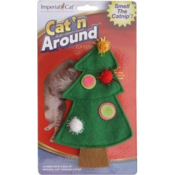 Christmas Tree Refillable Catnip Toy