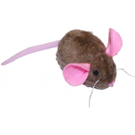 This little mouse can withstand even the roughest kitties.