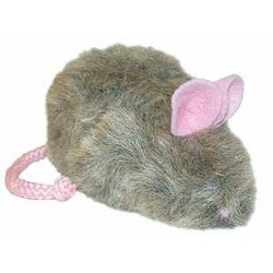 Rowdy Rat Refillable Catnip Toy