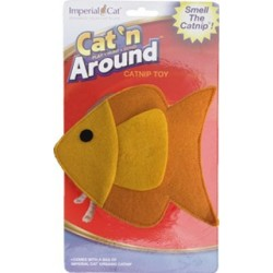 Fun Fish Refillable Catnip Toy