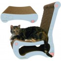 M.A.X. Easy Chair Cat Scratcher with Scratching Ottoman