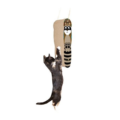 Designed to satisfy your cat's vertical scratching needs!