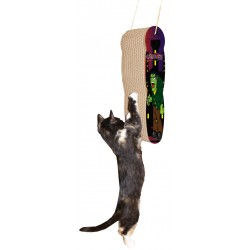 M.A.X. Hanging Frankenstein Cat Scratcher