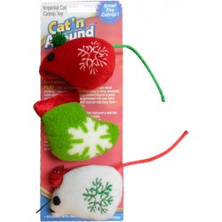 Imperial Cat Holiday Catnip Toy 3-pack
