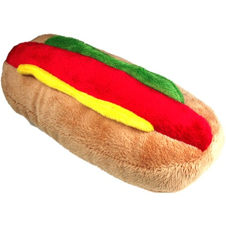 Hot Dog Dog Toy