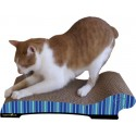 Imperial Cat Chaise Scratch 'n Shape, Blue Stripe