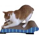 Imperial Cat Chaise Scratch 'n Shape, Blue Stripe