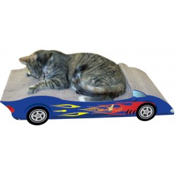 Imperial Cat Convertible Scratch 'n Shape, Blue