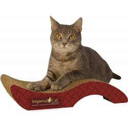 Imperial Cat Purrfect Stretch Scratch and Shape, Small, Victorian Red
