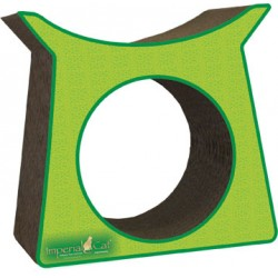 Imperial Cat Tower Tunnel Scratch 'n Shape, Italian Green
