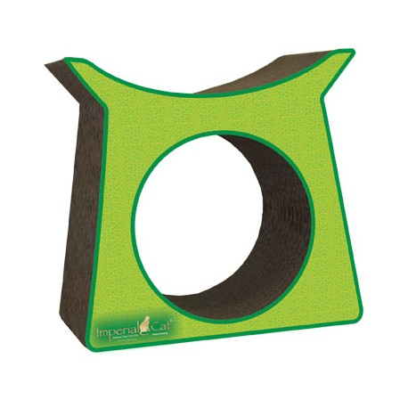 Imperial Cat Tower Tunnel Scratch and Shape, Italian Green
