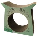 Imperial Cat Tower Tunnel Scratch and Shape, Modern Green