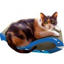 Imperial Cat Whale Scratch 'n Shape, Blue, Small