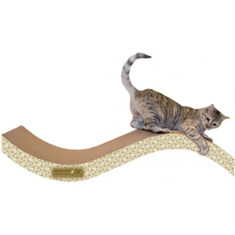 Imperial Cat Purrfect Stretch Scratch 'n Shape, Giant, Paisley