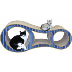 Imperial Cat Big Cat Scratch 'n Shape, Blue Stripe