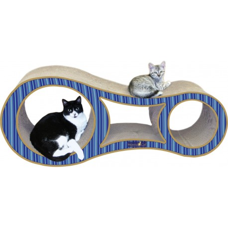 Imperial Cat Big Cat Scratch and Shape, Blue Stripe