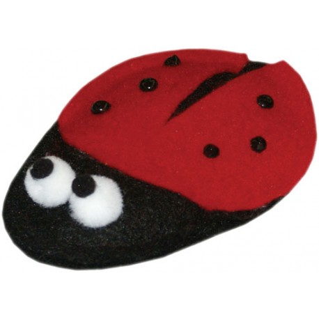 Imperial Cat Cat and Around, Lady Bug Organic Catnip Toy