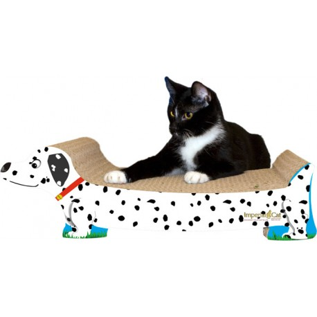 Imperial Cat Dalmation Scratch 'n Shape, Large