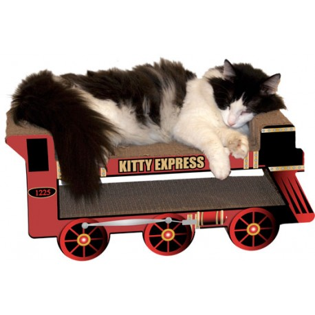 Imperial Cat Kitty Express Train Scratch and Shape