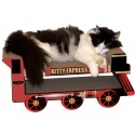 Imperial Cat Kitty Express Train Scratch 'n Shape