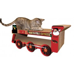 Imperial Cat Holiday Express Train Scratch 'n Shape