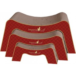 Imperial Cat Scratch 'n Snooze Scratch 'n Shape, Victorian Red