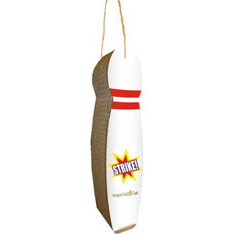 Imperial Cat Bowling Pin Hanging Scratch 'N Shape