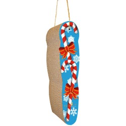 Imperial Cat Candy Cane Hanging Scratch 'n Shape
