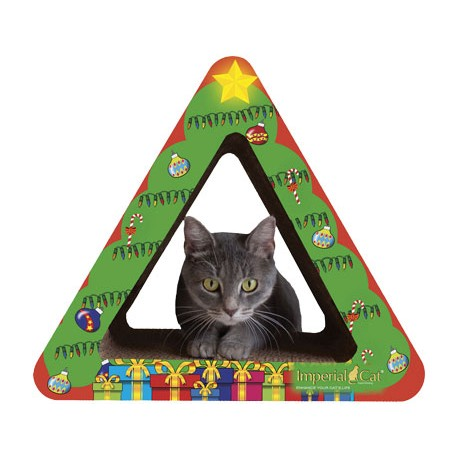 Imperial Cat Christmas Tree Scratch 'n Shape, Small