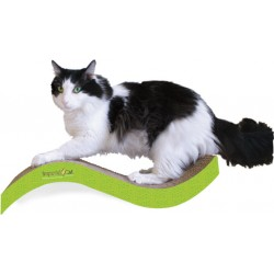 Imperial Cat Purrfect Stretch Scratch 'n Shape, Medium, Italian Green