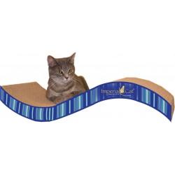 Imperial Cat Purrfect Stretch Scratch 'n Shape, Medium, Blue Stripe