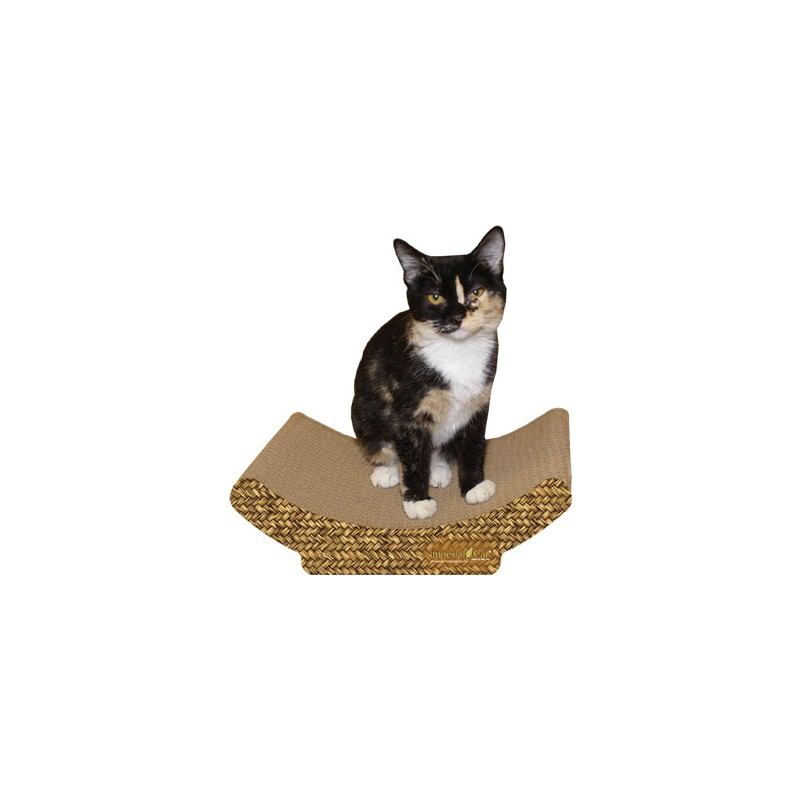 How To Weave A Cat Basket : Imperial cat cozy curl scratch n shape basket weave