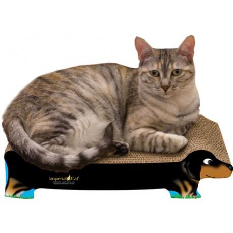 Imperial Cat Black Dachshund Scratch 'n Shape, Small