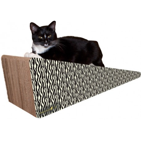 Imperial Cat Giant Wedge Scratch 'n Shape, Zebra