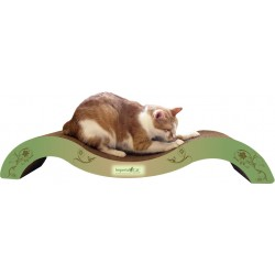 Imperial Cat The Posh Scratch 'n Shape, Modern Green