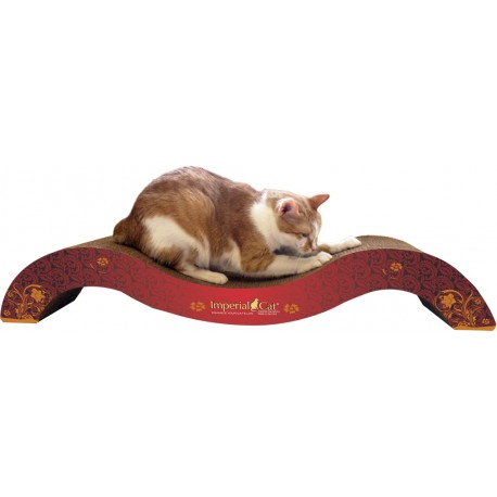 Imperial Cat The Posh Scratch 'n Shape, Modern Red