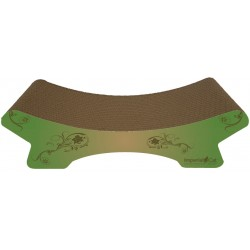 Imperial Cat Zen Scratch 'n Shape, Modern Green