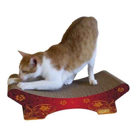 Imperial Cat Zen Scratch 'n Shape, Modern Red