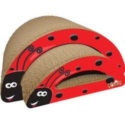 M.A.X. Ladybug Cat Scratcher Combo
