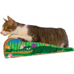 Imperial Cat Crocodile Scratch 'n Shape, Medium