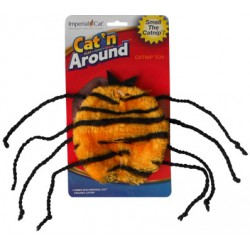 Cat 'n Around Toys (on Hang Card) Spider Catnip Toy